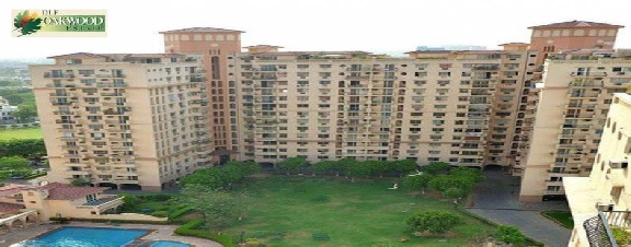 Oakwood Estate, 4 Bhk Flat Available  For Rent
